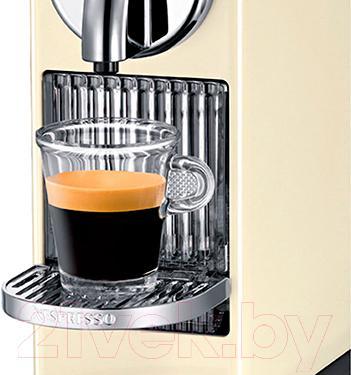 Капсульная кофеварка DeLonghi EN166.CW (Beige) - раздаточная группа