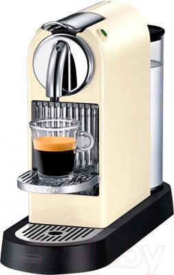 Капсульная кофеварка DeLonghi EN166.CW (Beige) - общий вид