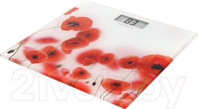 Напольные весы электронные Supra BSS-5000 (Red) - общий вид