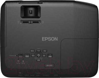 Проектор Epson EB-S03 (в комплекте с лампой ELPLP78) - вид сверху