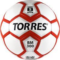 Футбольный мяч Torres BM 300 F30095 (White-Silver-Red) -