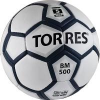 Футбольный мяч Torres BM 500 F30085 (White-Gray-Silver) -