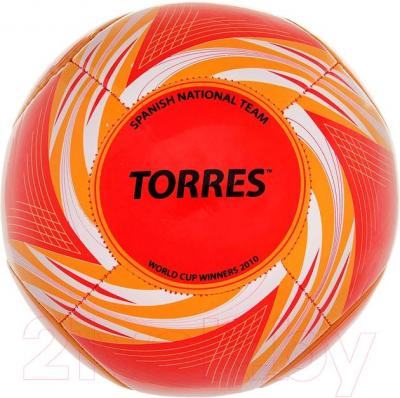 Футбольный мяч Torres WC2014 Spain (Red) - общий вид