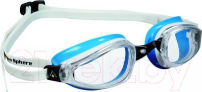 Очки для плавания Aqua Sphere K180 Lady 173270 (бело-голубой) - общий вид