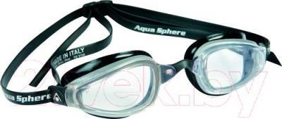 Очки для плавания Aqua Sphere K180 173000 (черный) - общий вид