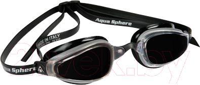 Очки для плавания Aqua Sphere K180 173030 (черный) - общий вид