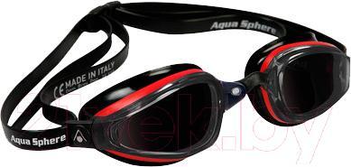 Очки для плавания Aqua Sphere K180 173040 (красно-черный) - общий вид