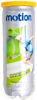 Теннисные мячи Motion Partner MP385 (3шт) - общий вид