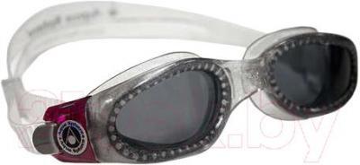 Очки для плавания Aqua Sphere Kaiman Lady 171340 (Silver Sparkle-Raspberry) - общий вид