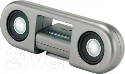 Мультимедиа акустика Genius SP-i205U (Silver) - общий вид
