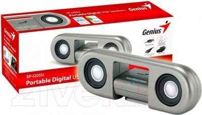Мультимедиа акустика Genius SP-i205U (Silver) - с упаковкой