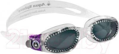 Очки для плавания Aqua Sphere Kaiman Lady 171330 (прозрачный/фиолетовый) - общий вид