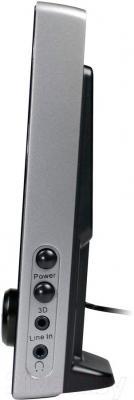Мультимедиа акустика Genius SP-i220 (Black) - вид сбоку