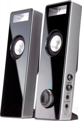 Мультимедиа акустика Genius SP-i220 (Black) - общий вид