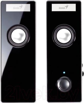 Мультимедиа акустика Genius SP-i220 (Black) - вид спереди