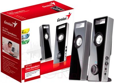 Мультимедиа акустика Genius SP-i220 (Black) - в упаковке