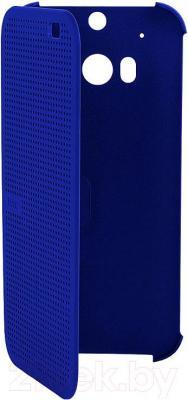 Чехол-книжка HTC Dot View Flip Case HC M130 (синий) - общий вид