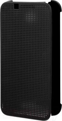 Чехол-книжка HTC Dot View Flip Case HC M130 (темно-серый) - общий вид