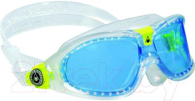 Очки для плавания Aqua Sphere Seal Kid 2 175410 (прозрачный/лайм) - общий вид