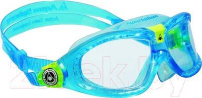 Очки для плавания Aqua Sphere Seal Kid 2 175300 (голубой/лайм) - общий вид