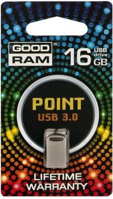 Usb flash накопитель Goodram Point 16GB Silver (PD16GH3GRPOSR10) - общий вид