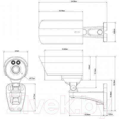 IP-камера AVTech AVM458C - габаритные размеры