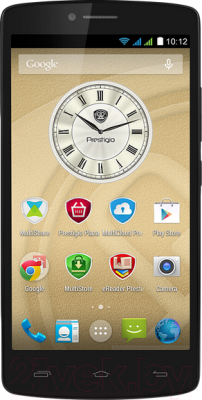 Смартфон Prestigio MultiPhone 5550 Duo (черный) - общий вид
