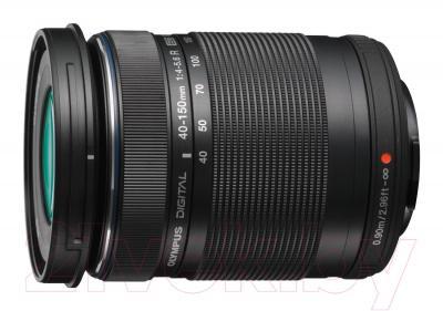 Беззеркальный фотоаппарат Olympus E-PL5 Double Kit 14-42mm II R + 40-150mm R  (Black) - объектив 40-150mm