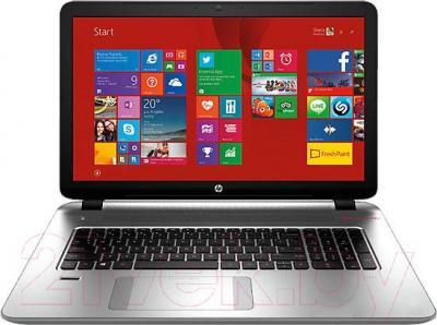 Ноутбук HP 17-j152nr (K6Y00EA) - общий вид