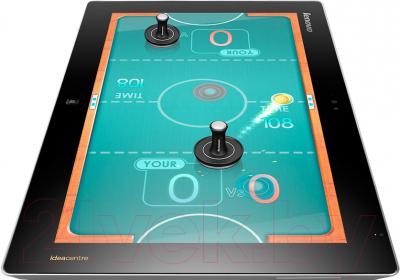 Моноблок Lenovo Flex 20 (57318717) - игра в аэрохоккей