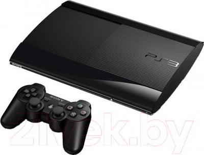 Игровая приставка Sony PlayStation 3 500GB (PS719878018) - с геймпадом