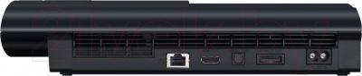 Игровая приставка Sony PlayStation 3 500GB (PS719878018) - вид сзади
