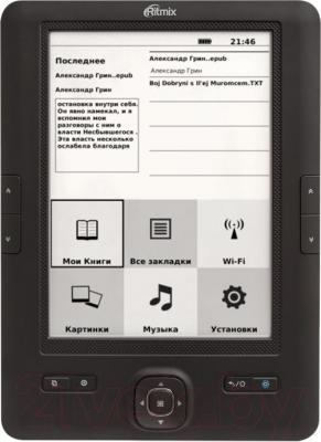 Электронная книга Ritmix RBK-670FL - общий вид