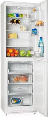 Холодильник с морозильником ATLANT ХМ 6025-060 - внутренний вид