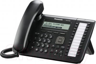 Проводной телефон Panasonic KX-UT133RU-B - общий вид