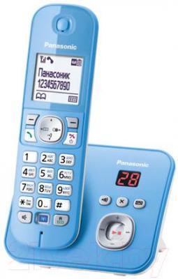 Беспроводной телефон Panasonic KX-TG6821RUF - общий вид