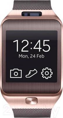 Интеллектуальные часы Samsung Gear 2 SM-R380 (Gold-Brown) - общий вид