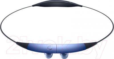 Наушники-гарнитура Samsung SM-R130 Gear Circle (синий) - в сложенном виде
