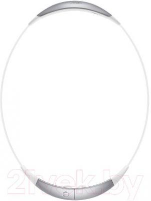 Наушники-гарнитура Samsung SM-R130 Gear Circle (белый) - в сложенном виде