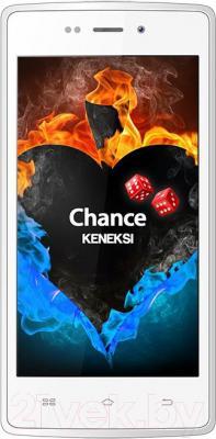 Смартфон Keneksi Chance (белый) - общий вид