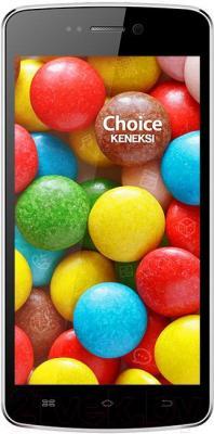 Смартфон Keneksi Choice (черный) - общий вид