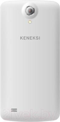 Смартфон Keneksi Choice (белый) - вид сзади