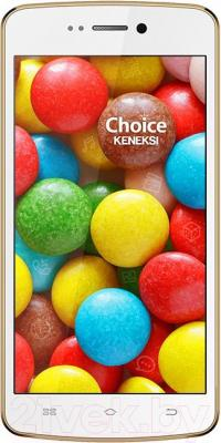 Смартфон Keneksi Choice (белый) - общий вид