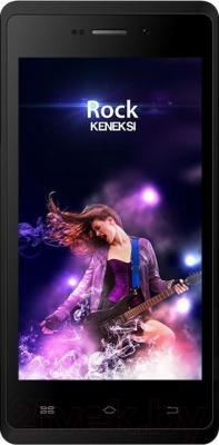 Смартфон Keneksi Rock (черный) - общий вид