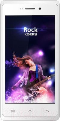Смартфон Keneksi Rock (белый) - общий вид