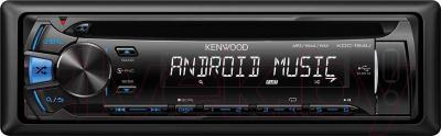Автомагнитола Kenwood KDC-164UB - вид спереди