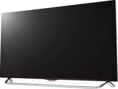 Телевизор LG 49UB830V - вполоборота