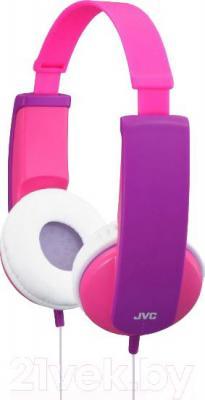 Наушники JVC HA-KD5 (розовый/фиолетовый) - общий вид