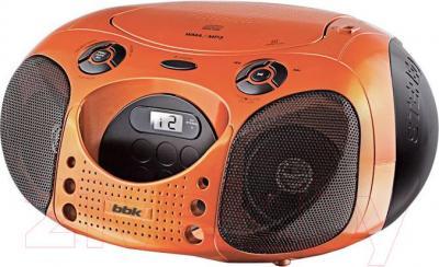 Магнитола BBK BX110U (оранжево-черный) - общий вид