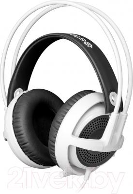 Наушники-гарнитура SteelSeries Siberia v3 Headset White (61356) - общий вид